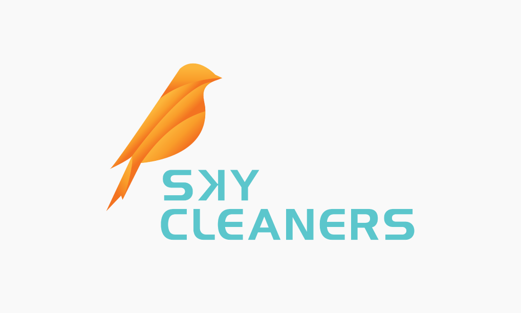 Sky Cleaners Logo